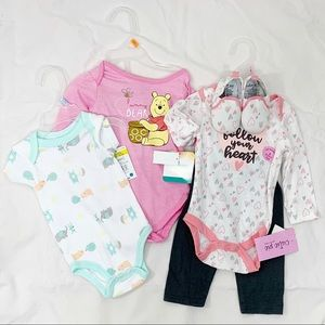 Girls Infant Child Lot of 3 outfits 3-6mos
